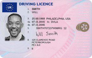 Uk licence